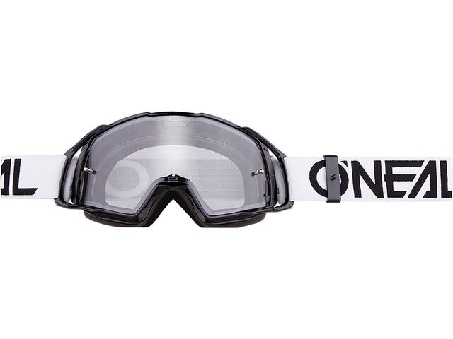 O'Neal B-20 Goggles flat black/white-clear